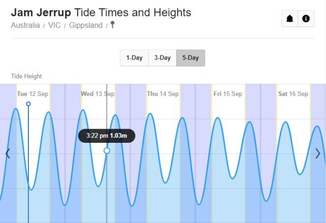 Tide Curve